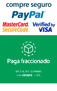 Pago Seguro con protección y cifrado SSL